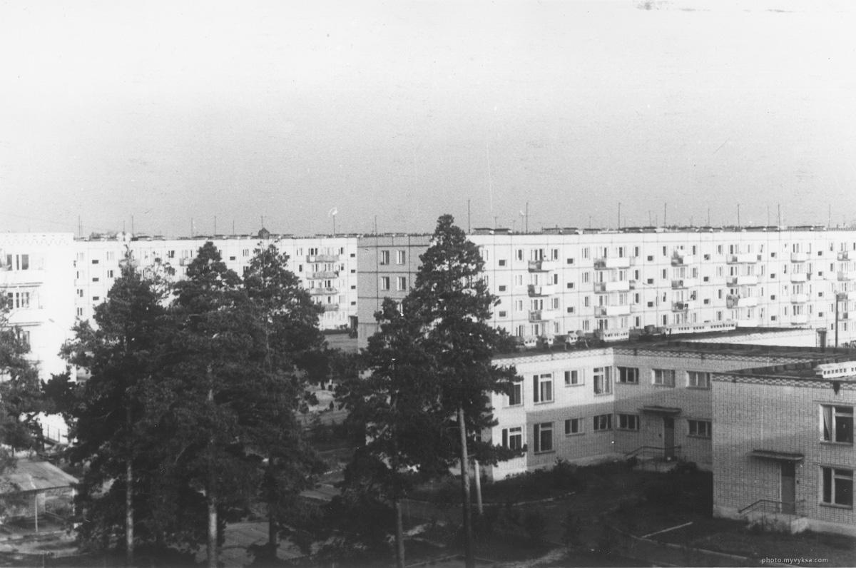 Детский сад в микрорайоне. Выкса — фото старой Выксы