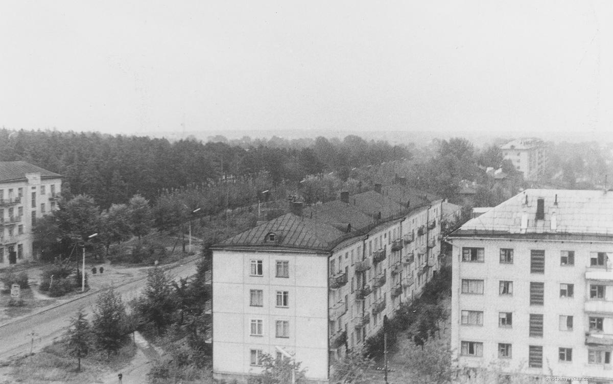 Панельный дом. Выкса — фото старой Выксы