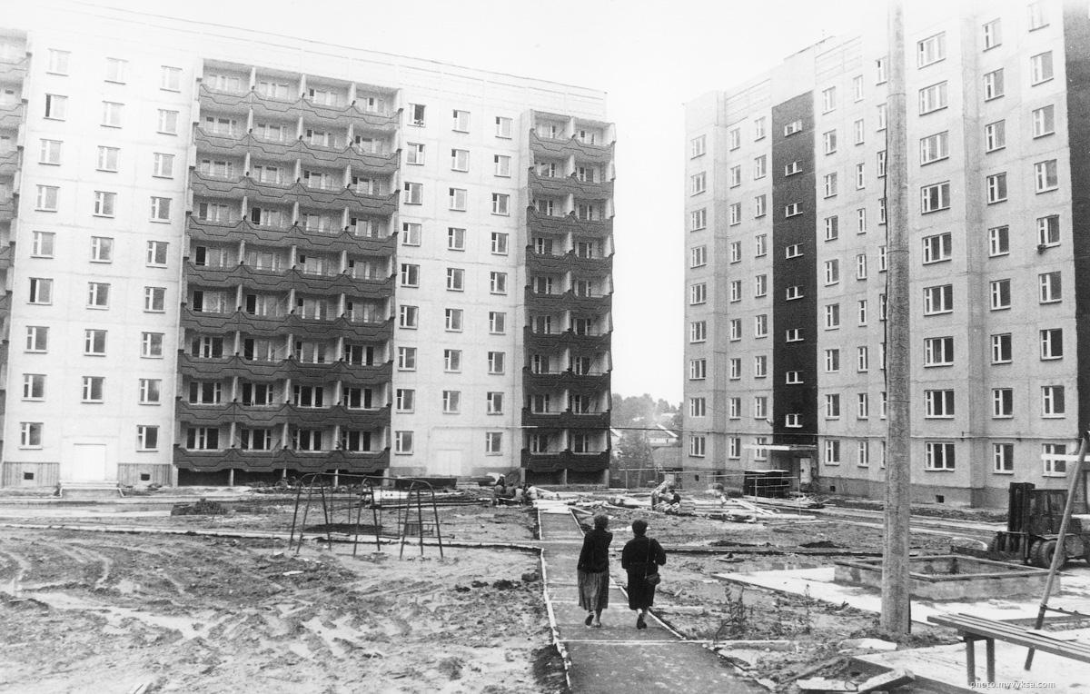 Улица Пушкина. Выкса