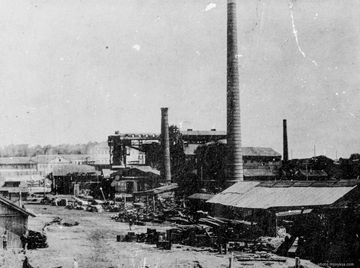 Выксунский завод. Выкса