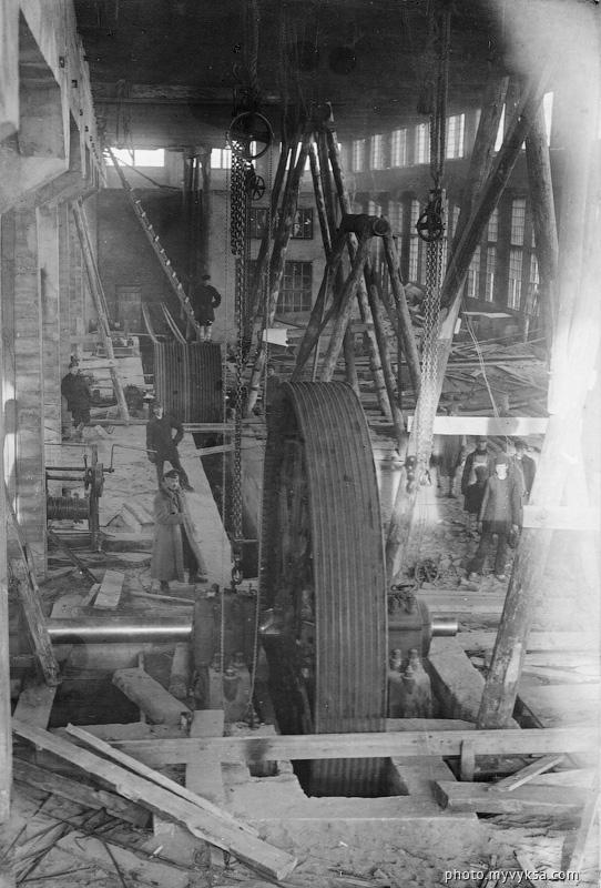 Воздуходувка доменного цеха. Выкса. Выксунский металлургический завод — фото старой Выксы