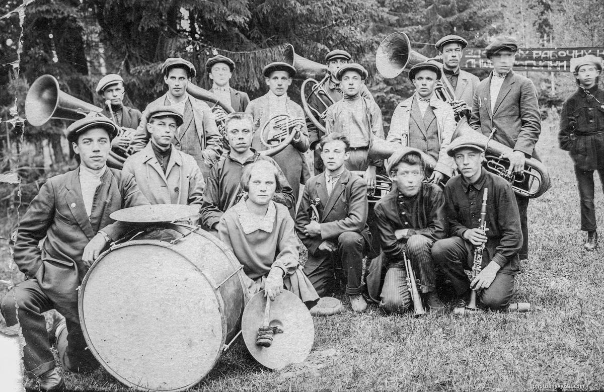 Оркестр. Выкса — фото старой Выксы
