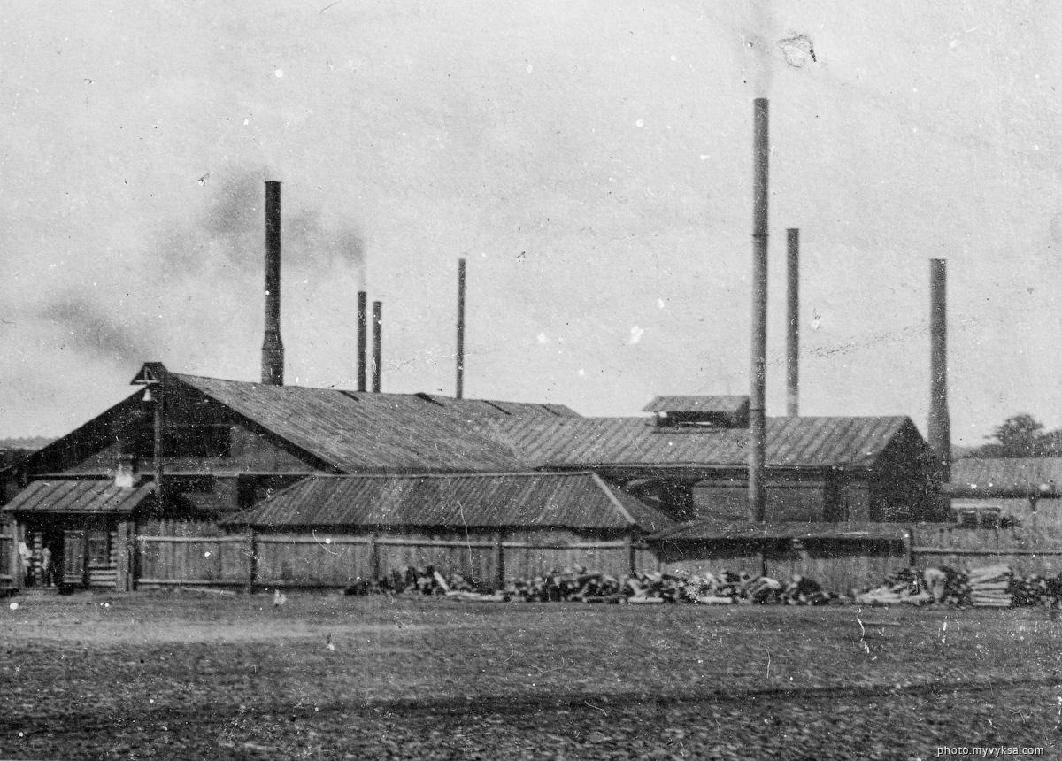 Проволоченский завод. Выкса